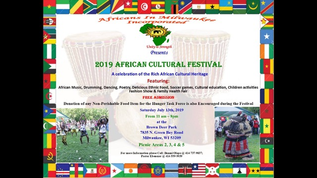 2019 AFRICAN CULTURAL FESTIVAL