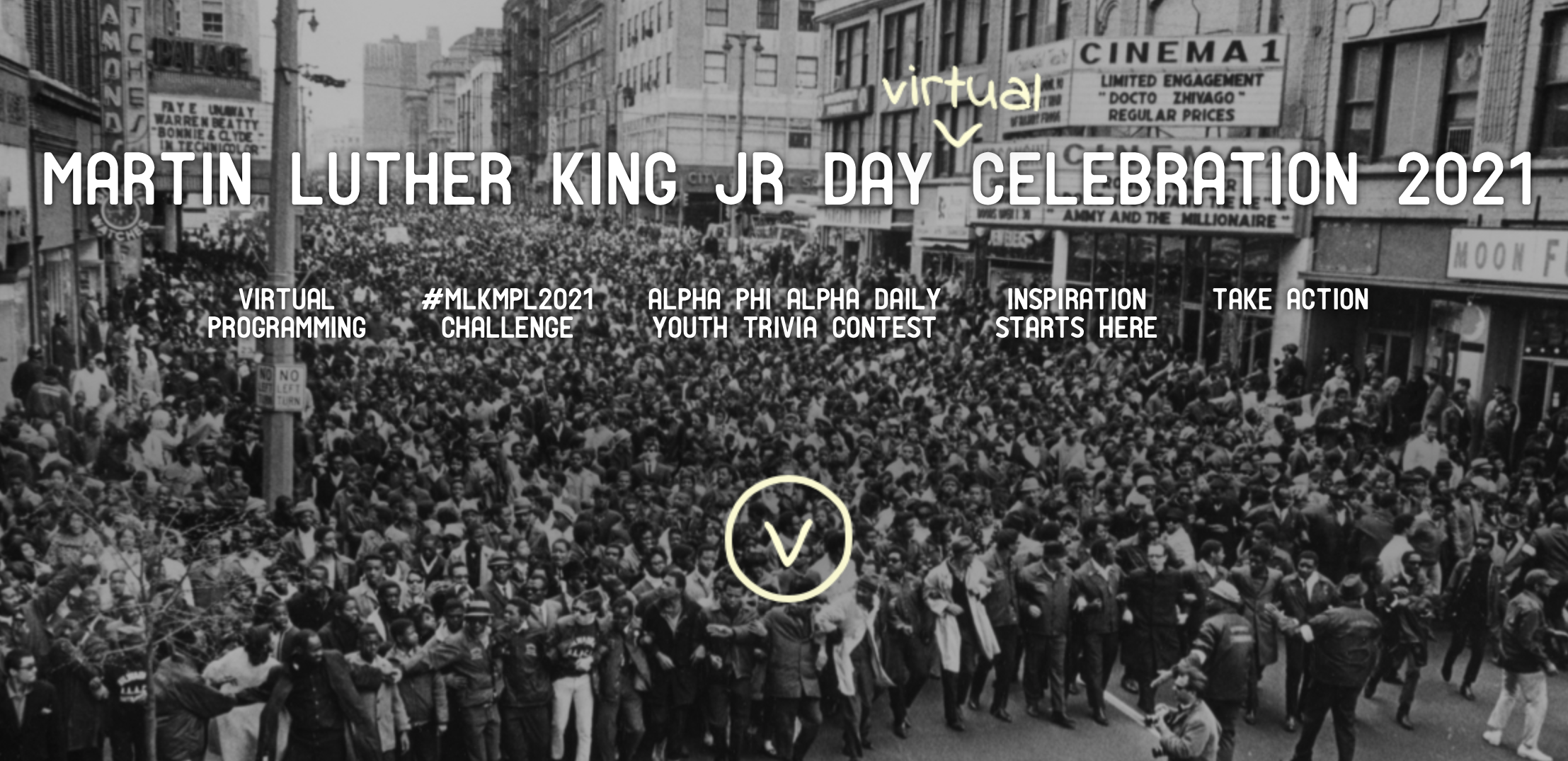 MPL continues strong tradition of celebrating Dr. Martin Luther King, Jr. day with online events this year